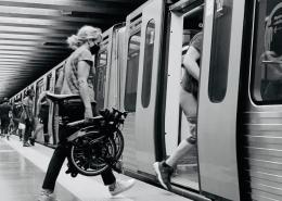 Bicicleta Brompton como meio de deslocação alternativo casa-trabalho