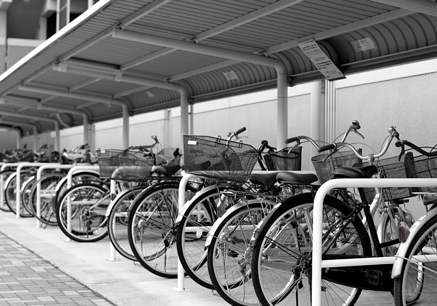 Exemplo de Estacionamento para bicicletas