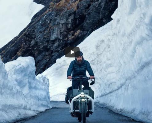 Usar um Ecargo-bike no dia-dia na Noruega