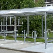 Estacionamentos para bicicletas - as estruturas abertas